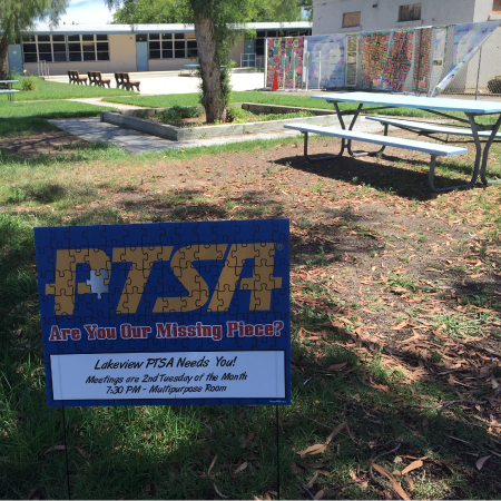 Promote Your PTA Lawn Signs